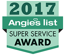 2017 - Angies List - Super Service Award